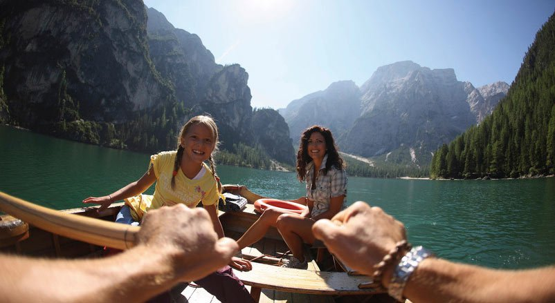 Active holiday in South Tyrol: free time fun in the Dolomites