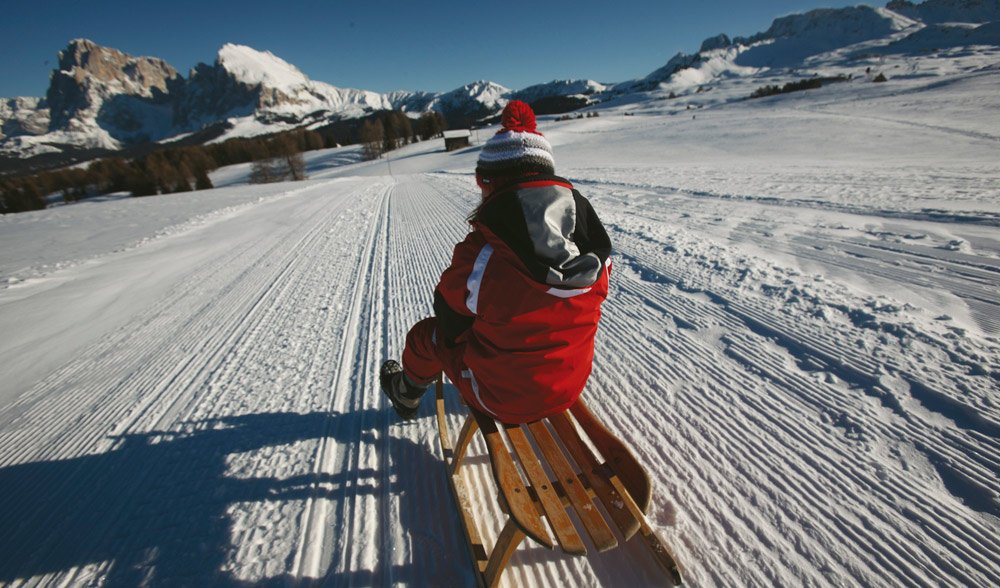 Different free time opportunities in a winter holiday in Val Gardena