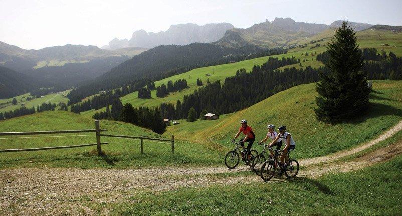 Sport activities in Val Gardena